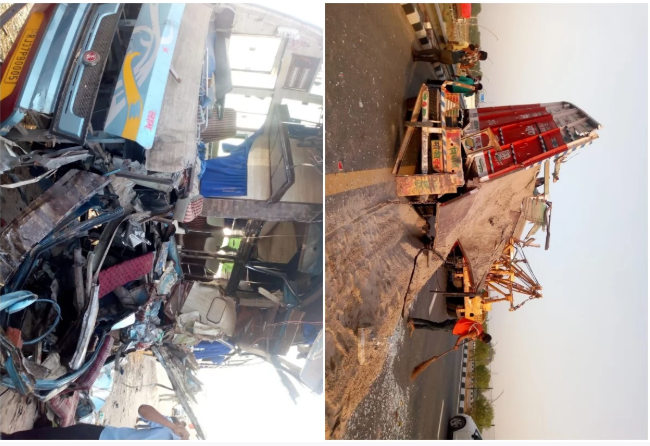 Agra Lucknow Expressway Accident
