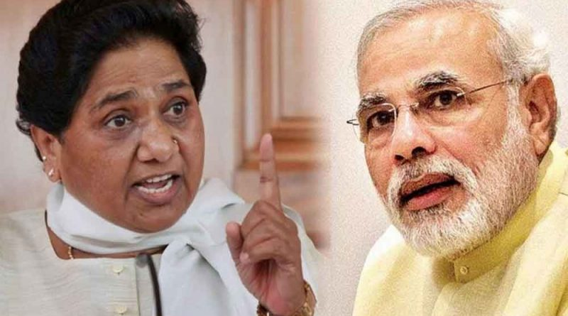 Mayawati and Modi on Samvad News