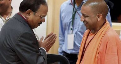 Yogi with Ajit Doval