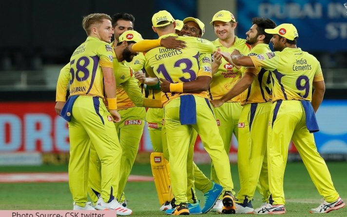 Chennai Super Kings win the match